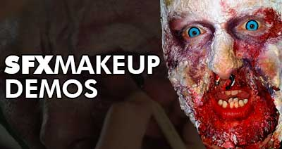 Special FX Makeup Demonstrations
