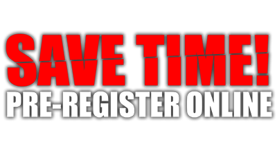 Save Time Pre-Register Online